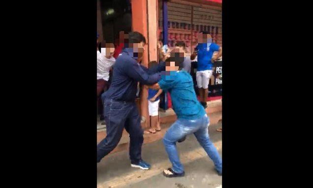 'Ladrãozinho': briga termina com prisões no Camelódromo de Campinas | Foto: Reprodução