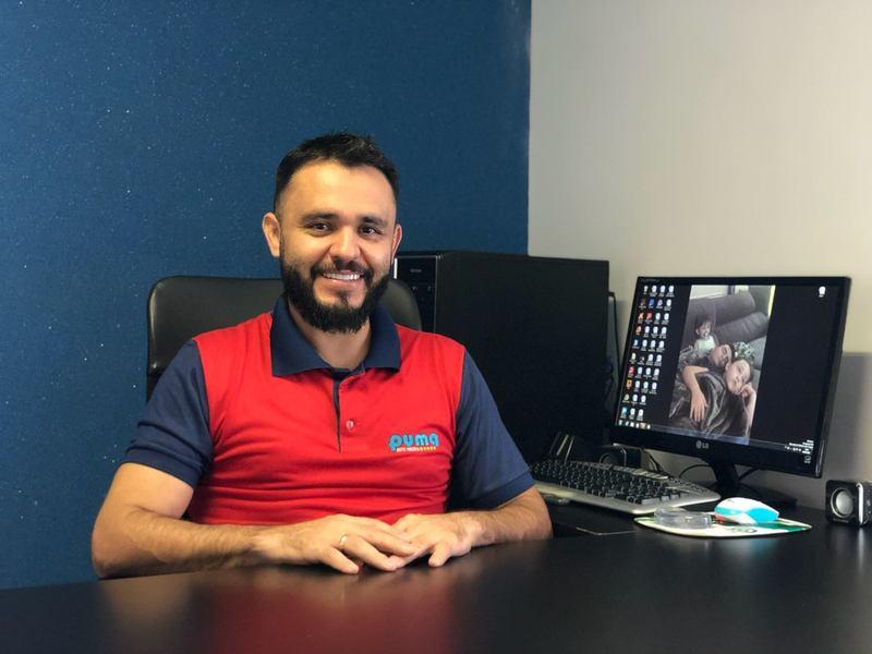 Empresário Onomar Novais, da Auto Escola Puma | Foto: Reprodução