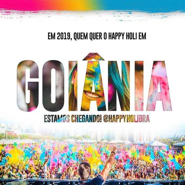 Happy Holi Goiânia 2019 | Foto: Divulgação