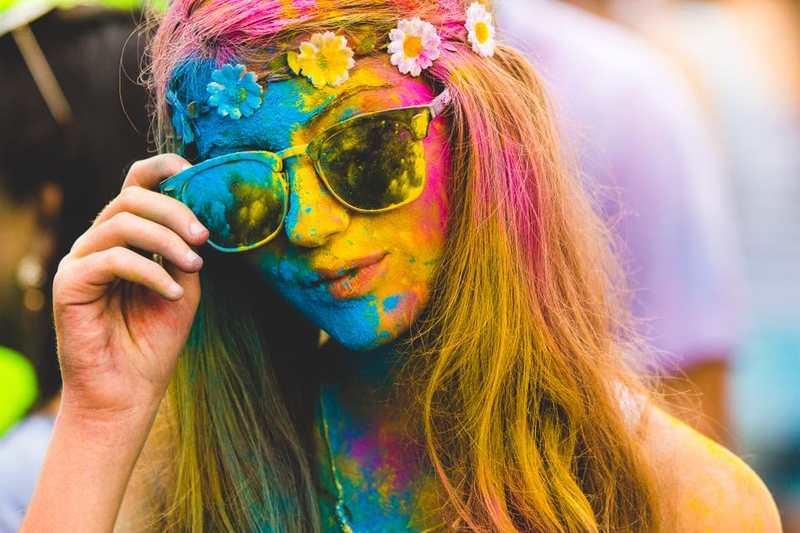 Happy Holi Goiânia 2019 vai combinar música eletrônica e MUITAS cores | Foto: Divulgação
