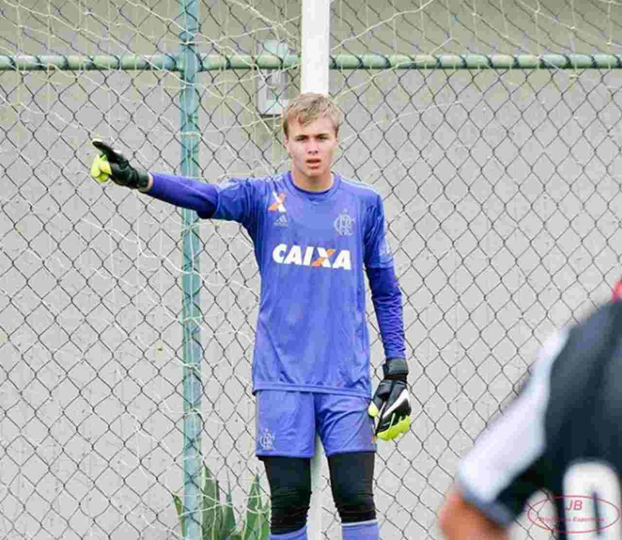 Incêndio CT Flamengo Bernardo