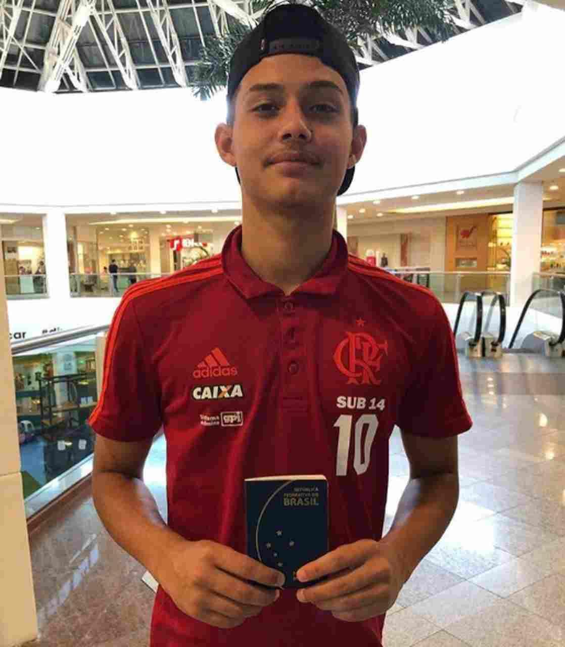 Incêndio CT Flamengo Cauan
