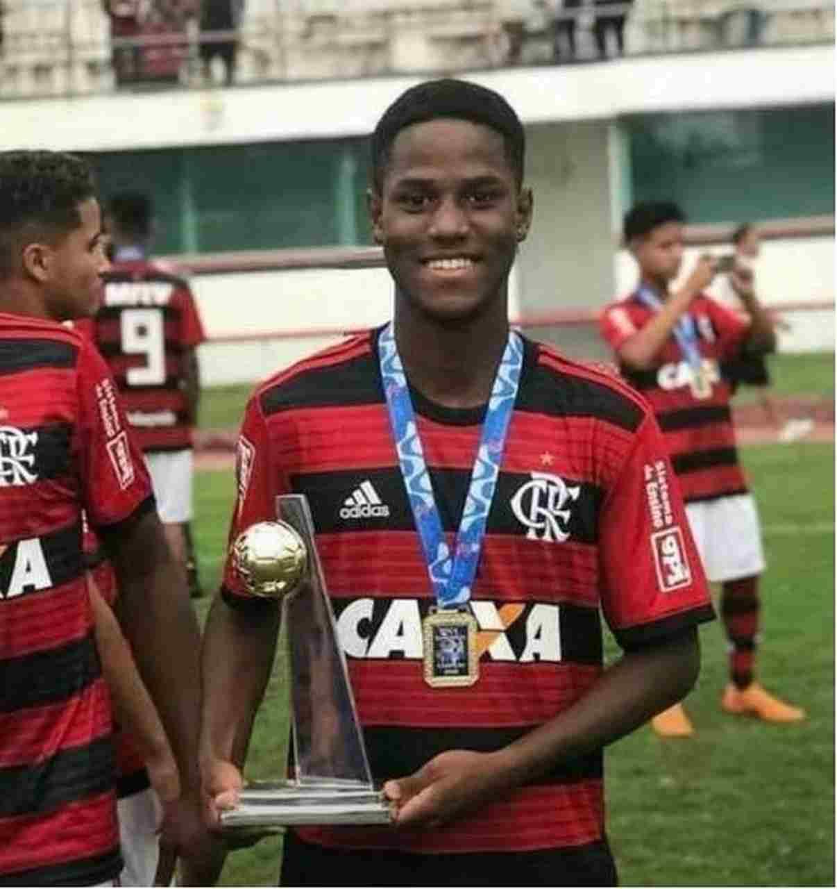 Incêndio CT Flamengo Samuel
