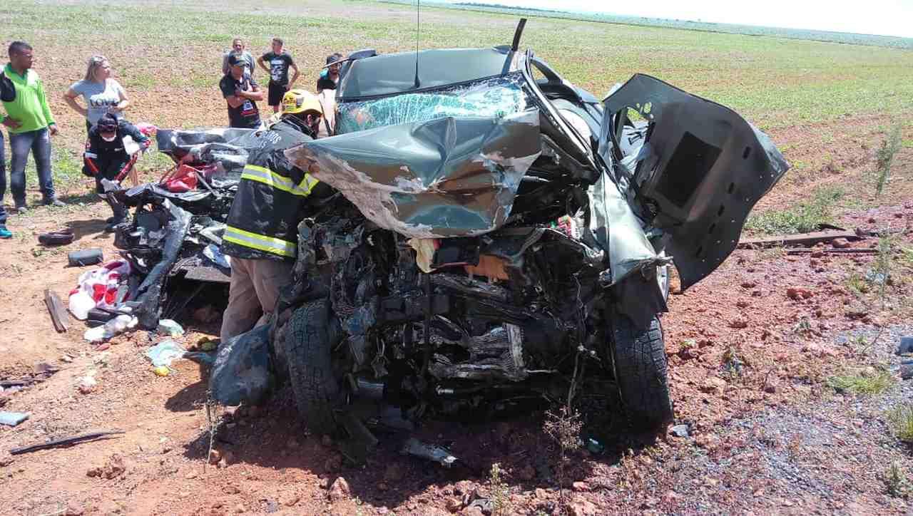 O acidente aconteceu na GO-436, perto de Cristalina (GO).