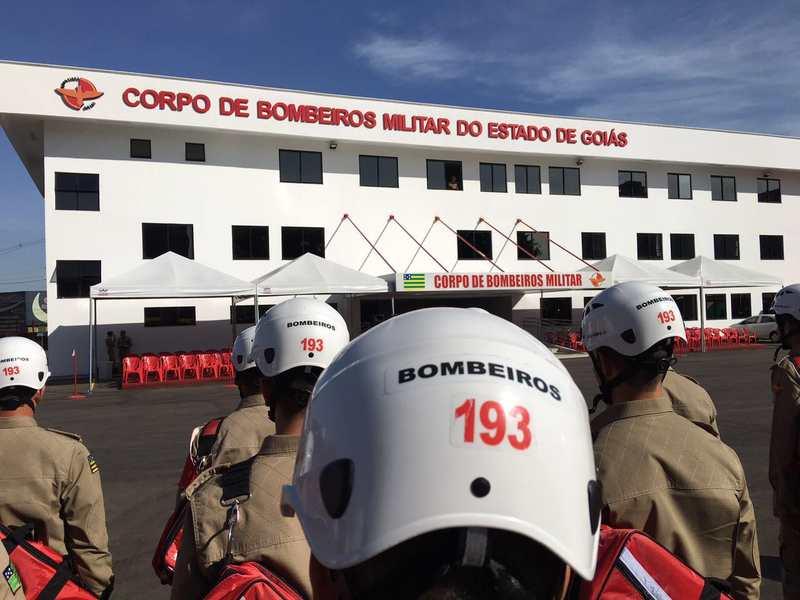 Bombeiros farão treinos de emergência com funcionários da Câmara de Aparecida | Foto: Divulgação / CBMGO