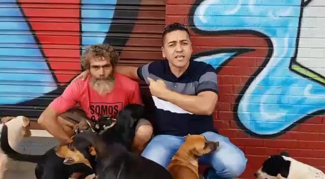 Damasceno Júnior é autor do vídeo que viralizou e quer ajudar ajudando Isaías   Foto: Reprodução