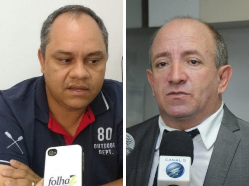 Procurador da Câmara Davi Mendanha e presidente da Casa Vilmar Mariano | Foto: Montagem