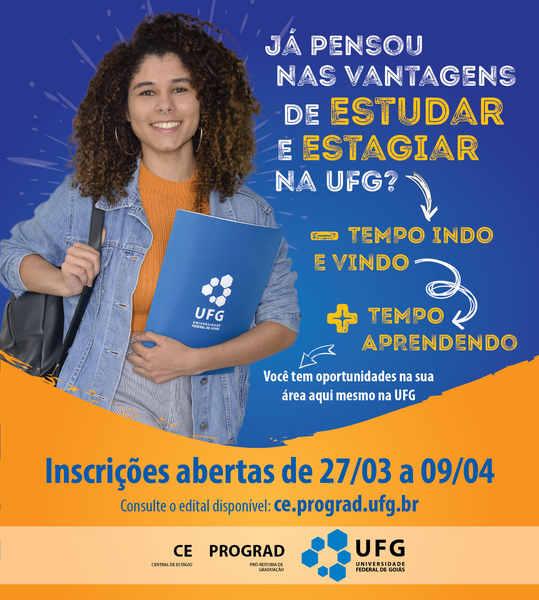 Estágio na UFG: 79 vagas abetas até para alunos de outras universidades | Foto: Divulgação