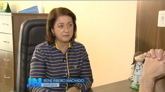 Médica Irene Ribeiro Machado | Foto: reprodução TV Anhanguera