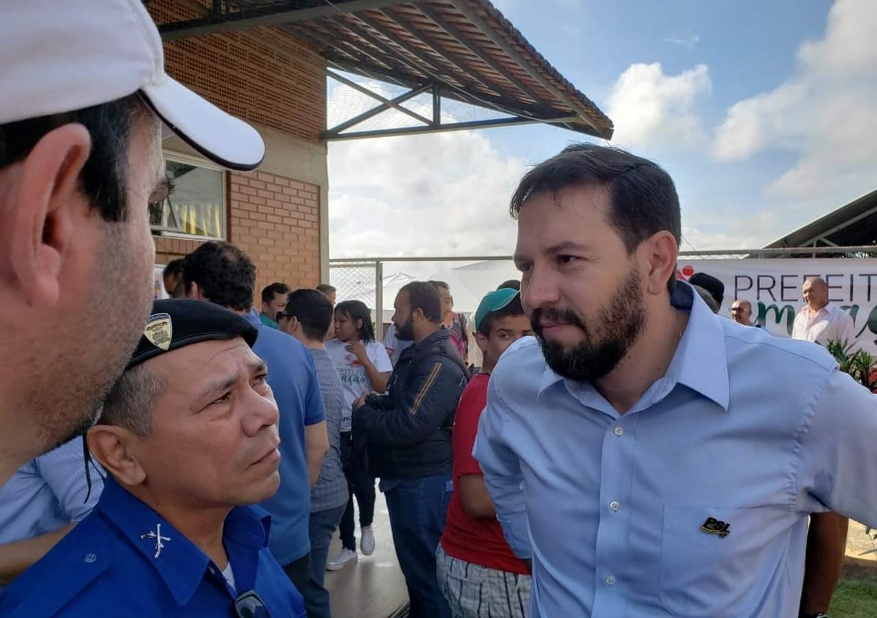 Professor Hugo do PSL fala sobre Gustavo Mendanha