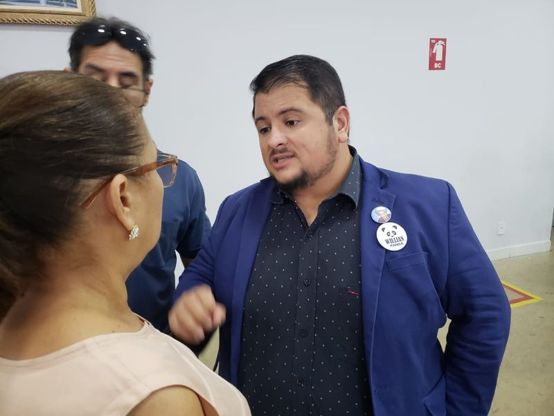 Vereador William Panda (PCdoB)   Foto: Folha Z