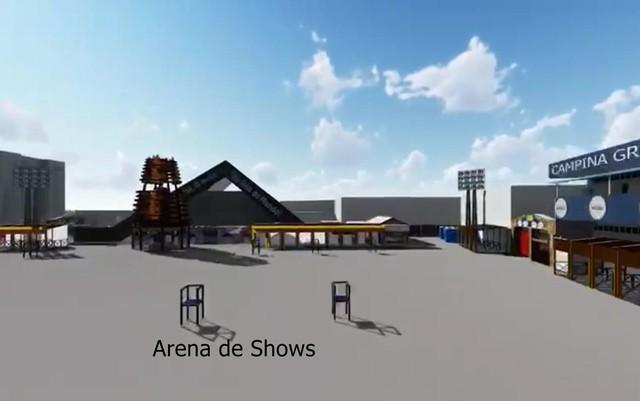 Arena de shows | Foto: Divulgação