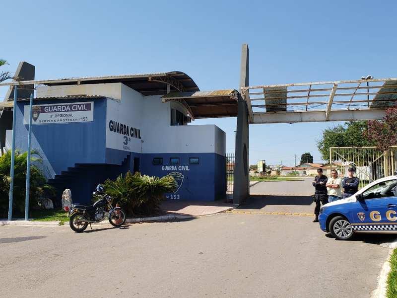 Atual sede da 3ª Regional da GCM de Aparecida | Foto: Divulgação