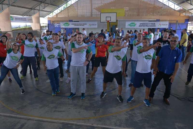 Desafio Aparecida em Boa Forma incentiva população a perder peso   Foto: Wigor Vieira