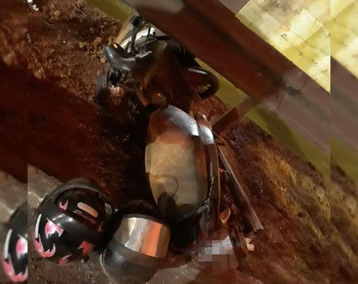 Morreu durante a madrugada desta quinta, 4, o jovem que teve a perna arrancada em acidente na Marginal Botafogo | Foto: Leitor / Folha Z