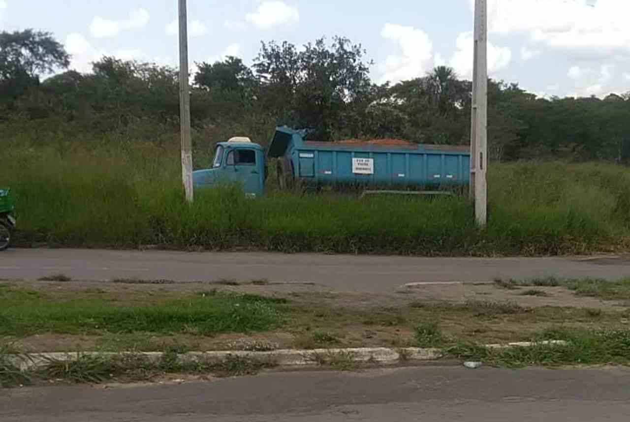 Varredor atropelado caminhão Canedo