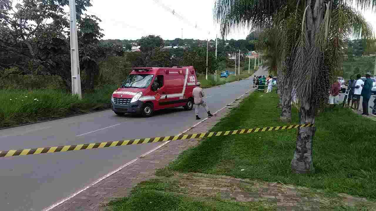 Varredor de rua atropelado Senador Canedo
