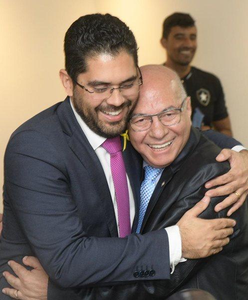 Vice-governador Lincoln Tejota e deputado federal Professor Alcides | Foto: Divulgação