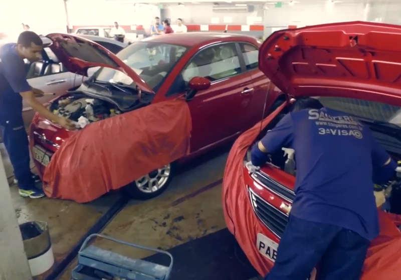 Onde fazer e como agendar vistoria de carro no Detran Goiás | Foto: Divulgação / Sanperes