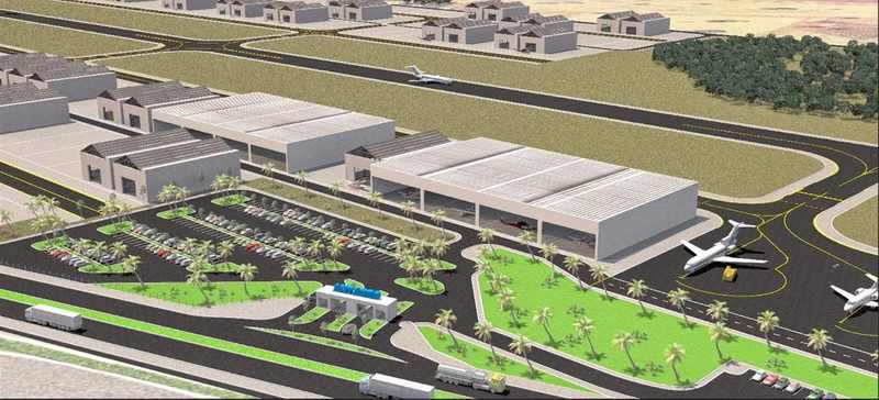 Antares Aeródromo Executivo terá isenção de impostos de 30 anos para atrair empresas | Foto: Reprodução