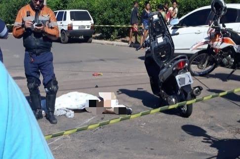 No local do acidente não há sinalização, segundo moradores   Foto: cedida por Bill Guerra