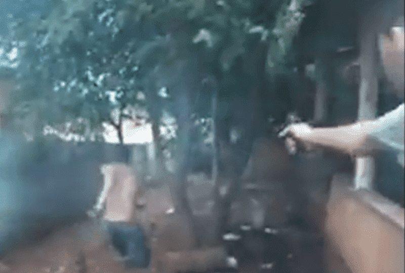 Homicídio de jovem em Aparecida foi filmado pelos criminosos que invadiram sua casa   Foto: Reprodução