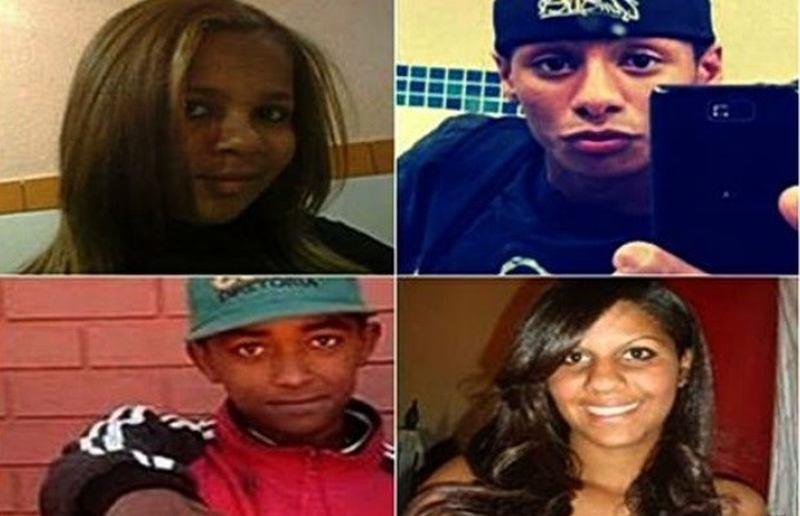 Jovens foram mortos em chacina na Serra das Areias   Foto: Reprodução