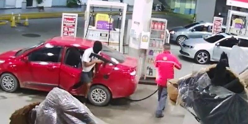 Sessão memória: Pareja roubou 11 postos de gasolina em 1 dia   Foto: Meramente Ilustrativa