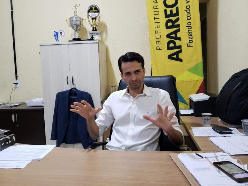 Secretário de Desenvolvimento Urbanode Aparecida de Goiânia Max Menezes | Foto: Folha Z