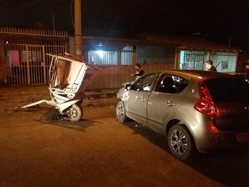 Motorista bêbado atropelou 3 adolescentes em Ceilândia | Foto: Divulgação/PMDF