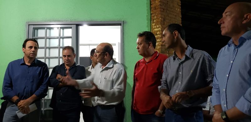 De acordo com o vice-prefeito Veter Martins, Mendanha vai indicar a sigla à qual o grupo se vinculará | Foto: Folha Z