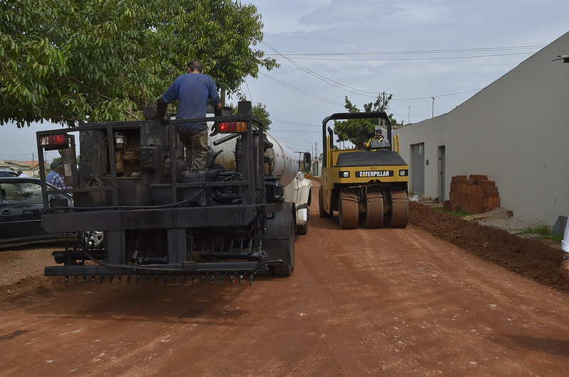 Prefeito divulga próximo setor que vai ganhar asfalto em Aparecida   Foto: Divulgação / Prefeitura