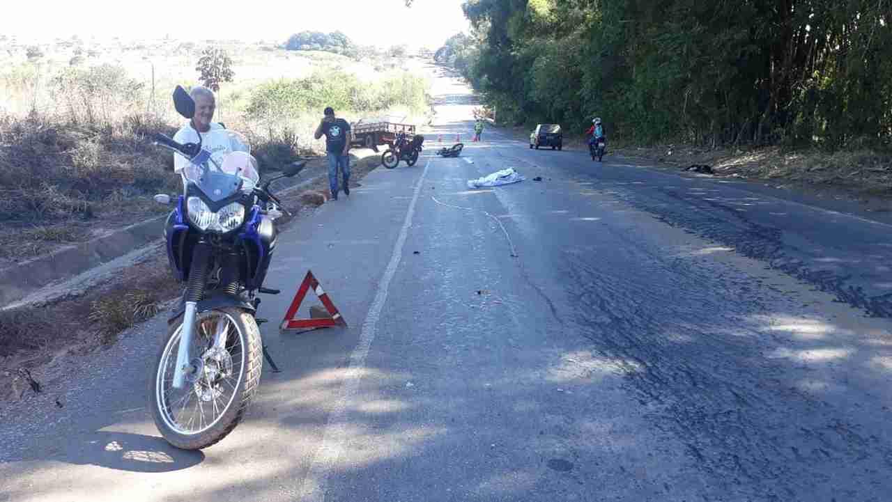 Acidente motociclista GO-040
