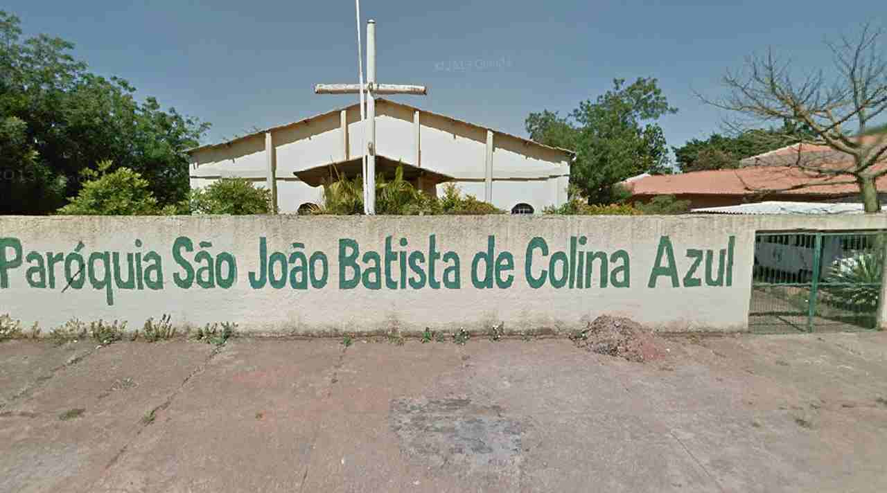 Arraiá Paróquia São João Batista Colina Azul