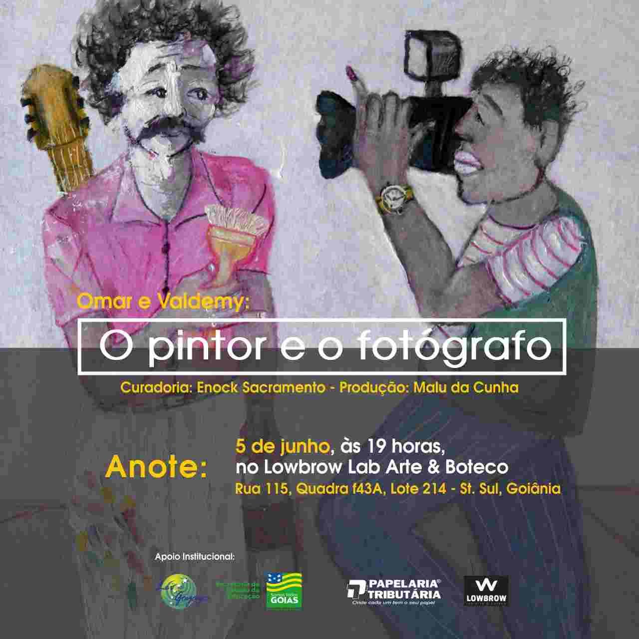 Exposição O Pintor e o Fotógrafo Lowbrow