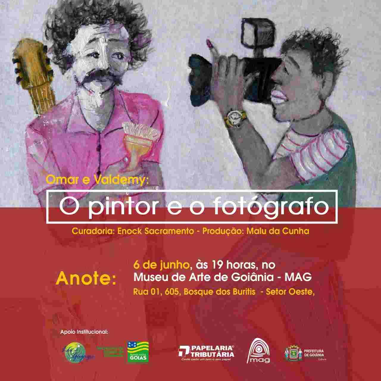 Exposição O Pintor e o Fotógrafo MAG