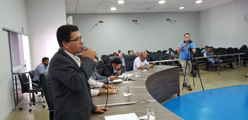 Vereador Rosildo Manoel (PP) | Foto: Folha Z