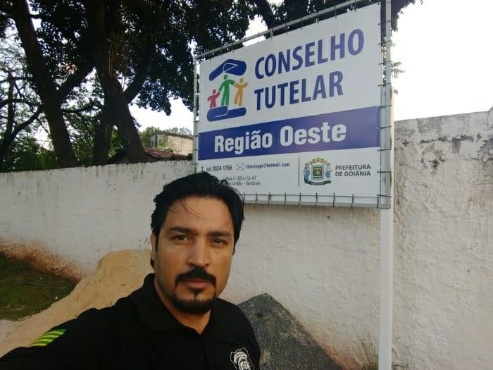 Conselheiro tutelar Luís Gomes, responsável pelo atendimento às vítimas | Foto: Arquivo Pessoal