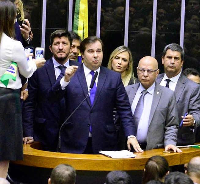 Discurso de aprovação da nova Previdência tem destaques aparecidenses em Glaustin e Alcides | Foto: Divulgação