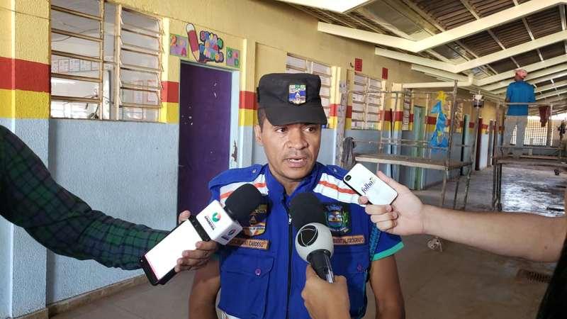 Superintendente de Proteção e Defesa Civil de Aparecida, Juliano Cardoso | Foto: Folha Z