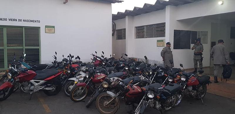 Deflagrada na última 4ª, 17, a ação visa tirar de circulação motos irregulares   Foto: Divulgação / PM
