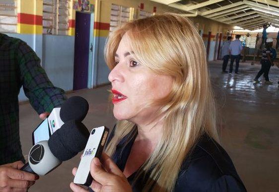 Secretária municipal de Educação, Cultura e Turismo de Aparecida (Semect), Valéria Pettersen | Foto: Folha Z