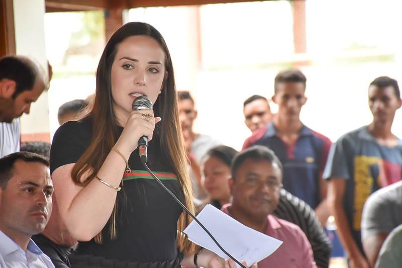 Secretária Nacional da Juventude, Jayana Nicaretta | Foto: Reprodução