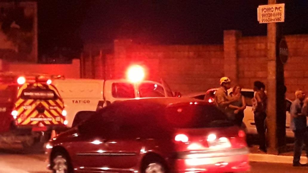 Viatura da PM se envolve em grave acidente em Goiânia