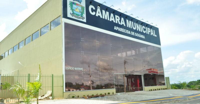 Câmara de Municipal de Aparecida de Goiânia | Foto: Divulgação