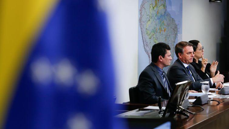 Presidente da República, Jair Bolsonaro, tem recebido sugestões de nomes para PGR mas indicado ainda não está definido. (Carolina Antunes/PR)
