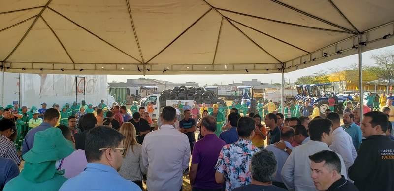 Abertura do 19º Prefeitura em Ação não conta com presença de moradores | Fotos: Folha Z
