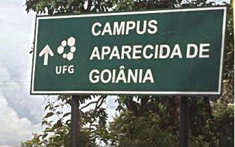 Sem prédio do câmpus entregue, UFG atua em Aparecida com aulas ministradas em salas de aula da Universidade Estadual de Goiás (UEG) | Foto: Reprodução