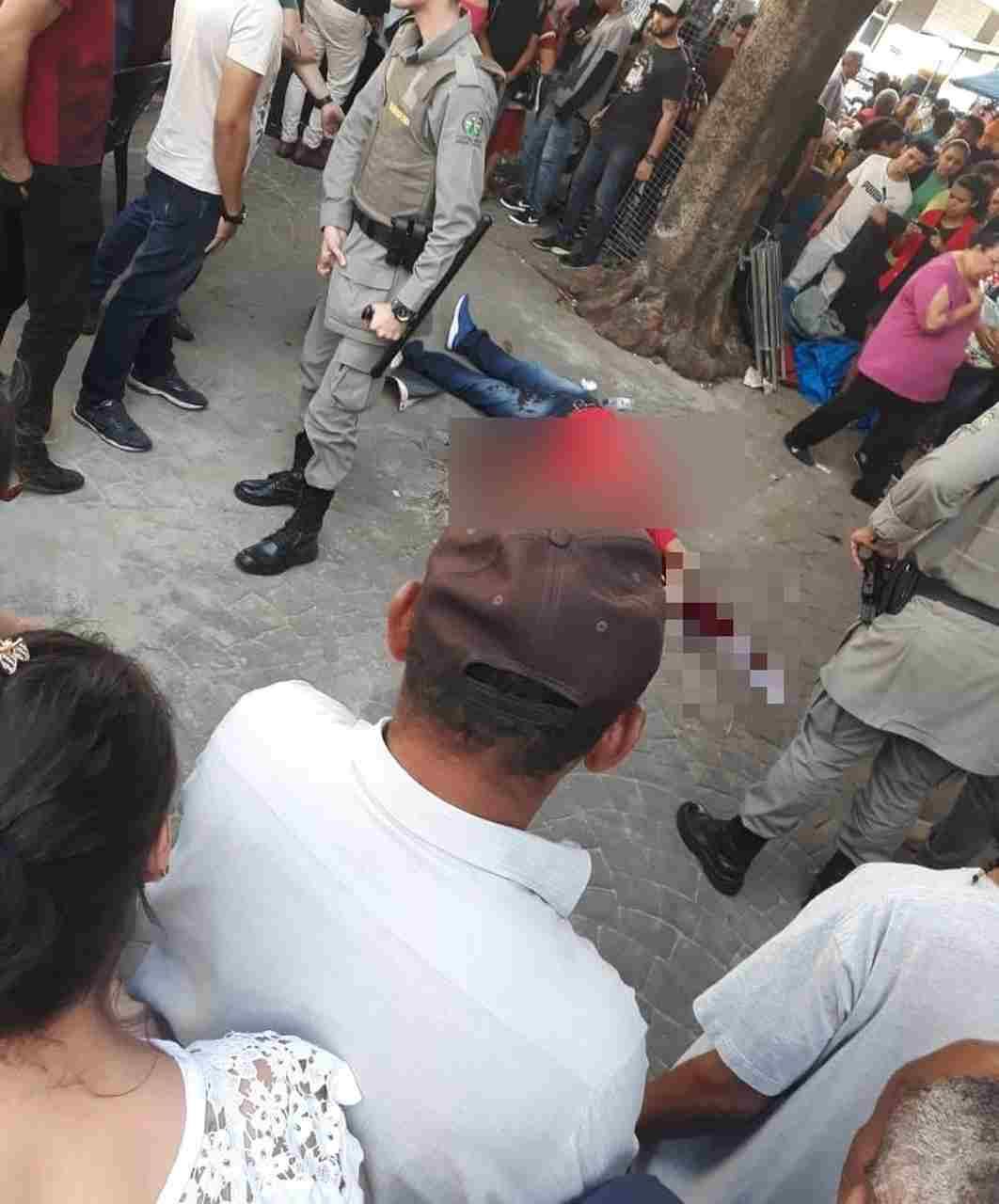 vendedor morto tiros Centro Goiânia