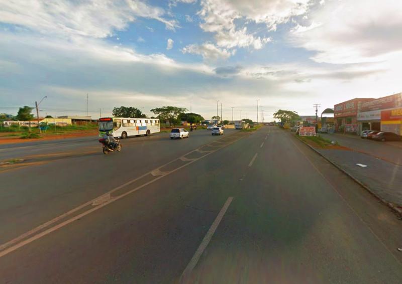 Iluminação da GO-040 será assumida pela Prefeitura de Aparecida | Foto: Google Maps